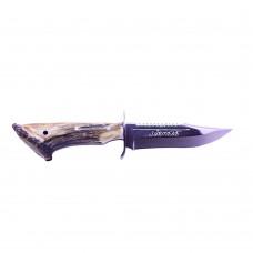 Geyik Boynuzu Av Bıçağı (Testereli)